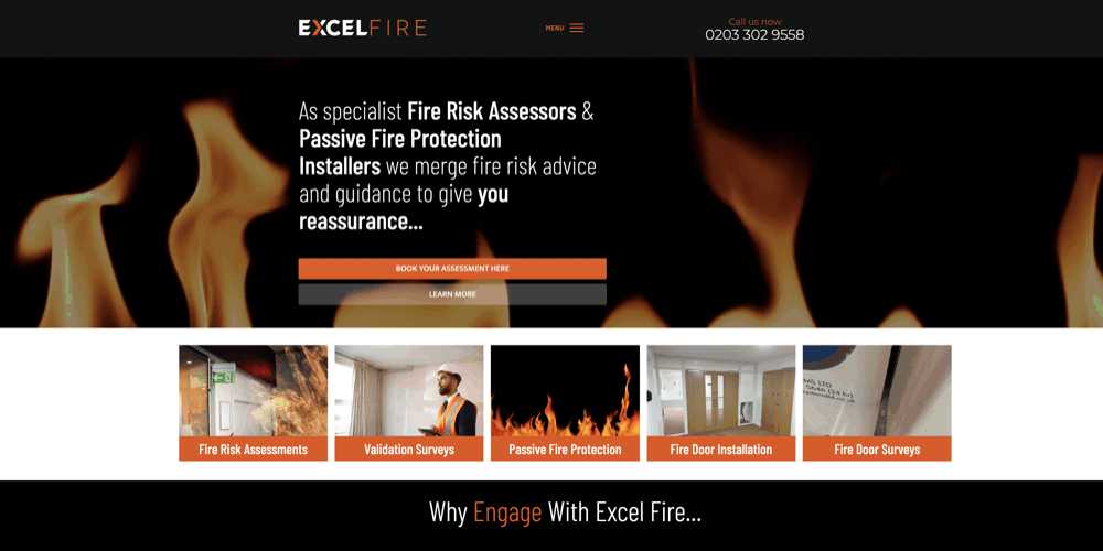 Excel Fire
