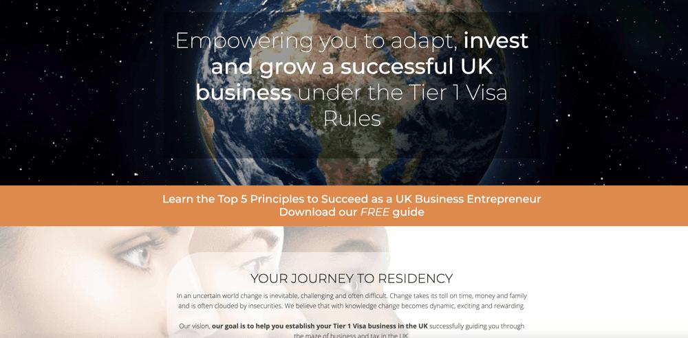 Business Visa Online – Tier 1 Visa